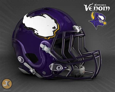 NFL Team Helmets Inspired by Marvel Comics Characters