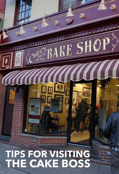Love Cake Boss? Carlo's Bake Shop-- an Easy Visit from NYC