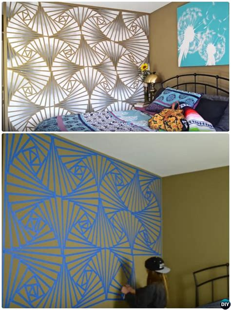 DIY Patterned Wall Painting Ideas and Techniques [Picture