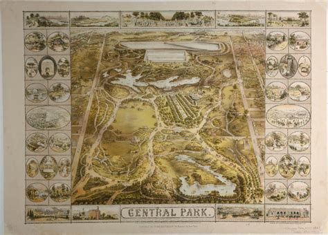Central Park in the 1800's   Earthly Mission