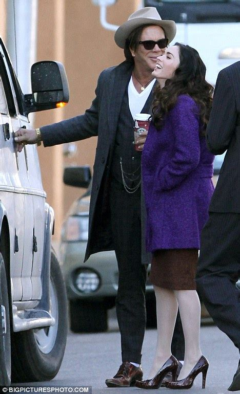 Megan Fox and Mickey Rourke get up close in new movie
