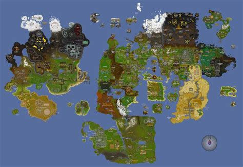 Combination of map improvements from OSRS Reddit community