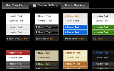 Introducing ThemeRoller: Design & Download Custom Themes