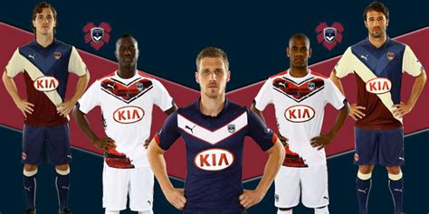 New Girondins Bordeaux 14-15 Home, Away and Third Kits