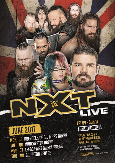 WWE NXT UK tour: Dates and how to buy tickets as wrestling