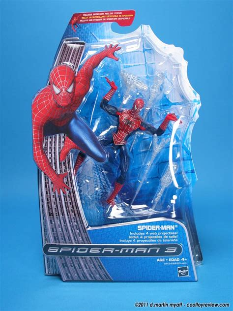 COOL TOY REVIEW: Hasbro Spider-Man 3 Web Projectile Spidey