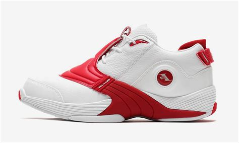 """Reebok Answer V """"White/Red"""": Buy It Here"""