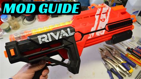 [MOD GUIDE] NERF RIVAL HYPNOS (K26 Spring Upgrade) - YouTube