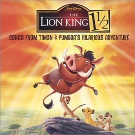 """Release """"The Lion King 1½: Songs from Timon & Pumbaa's"""