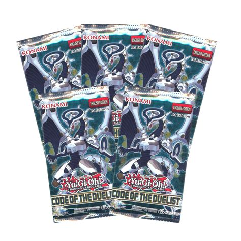 Yu-Gi-Oh Cards - Code of the Duelist - Booster Packs (5