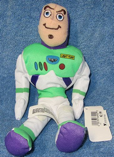 TOY STORY ~ SET OF WOODY AND BUZZ LIGHTYEAR BEAN BAG