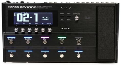New BOSS GT-1000 Guitar Effects Processor | Page 384 | The
