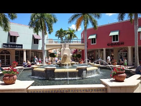 Miromar Outlets - exclusive shopping in Estero / FL