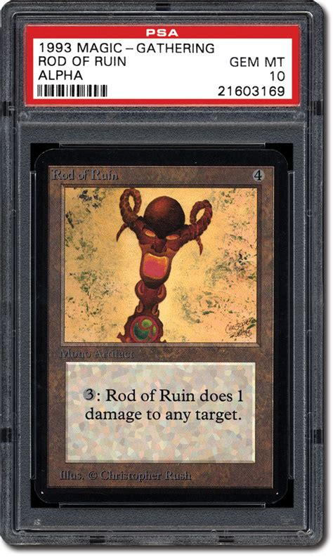 PSA Set Registry: Collecting the 1993 Magic: The Gathering