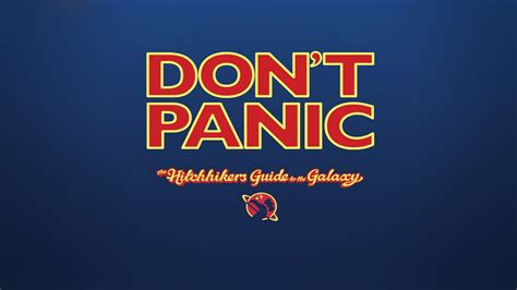 The Hitchhikers Guide To The Galaxy Wallpapers HD