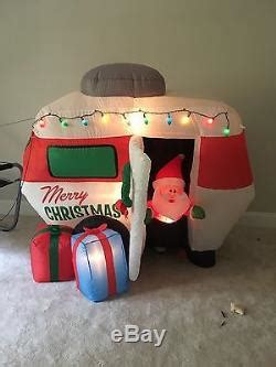 Gemmy Christmas Animated Airblown Inflatable Santa In