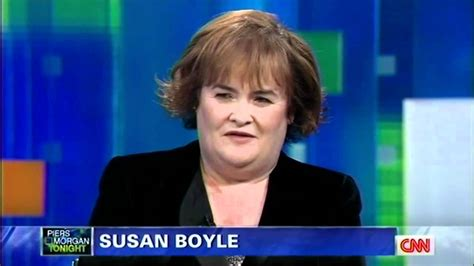 """Susan Boyle ~ """"Both Sides Now"""" & Interview ~ Piers Morgan"""