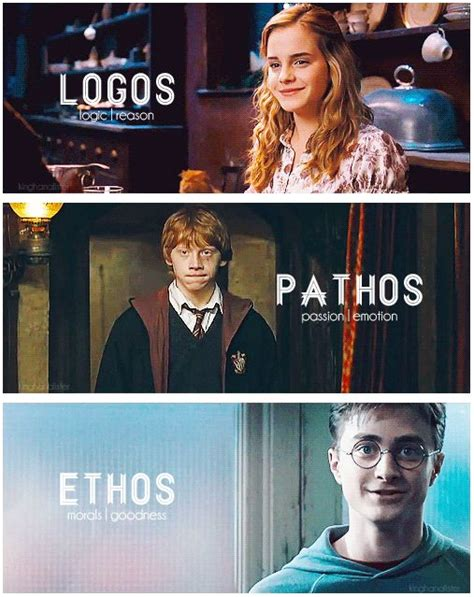 This image shows logos because Hermione was always the