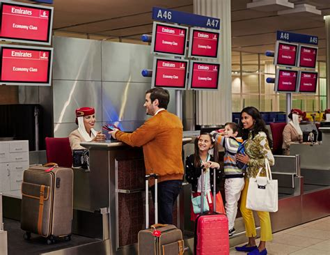 Emirates advises customers to arrive early to airport