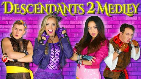 Descendants 2 Songs Medley a What's my Name Music Mashup