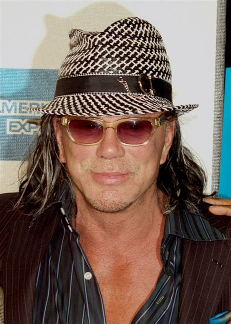 Mickey Rourke Weight Height Ethnicity Hair Color Eye Color