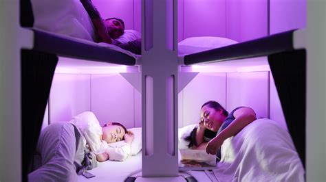 Air New Zealand unveils lie-flat sleeping pods for economy