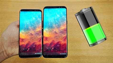 Samsung Galaxy S8 & S8 Plus Battery Life Review! (4K