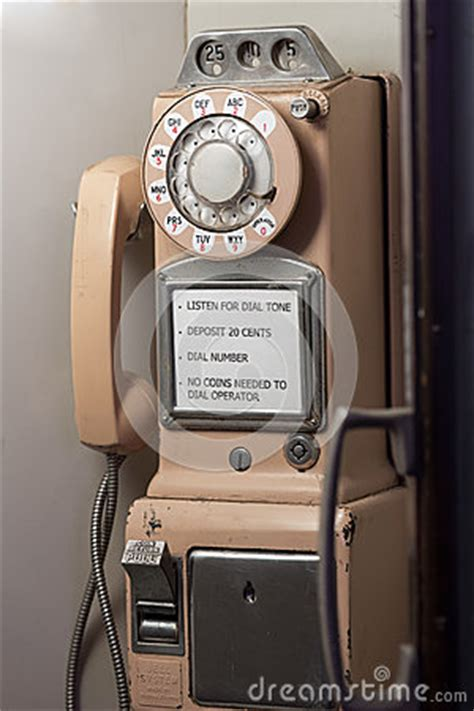 Antique Pay Phone Royalty Free Stock Photo - Image: 34586155