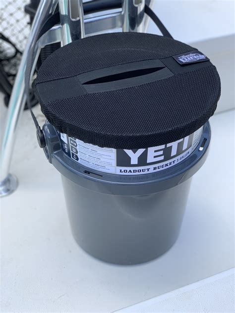 Thrash Can Bucket Topper, The Perfect Boat Trash Can