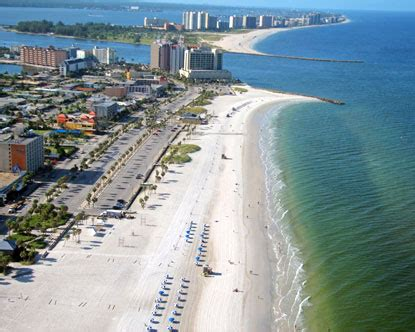 Clearwater Beach - Known for its white-sand beaches