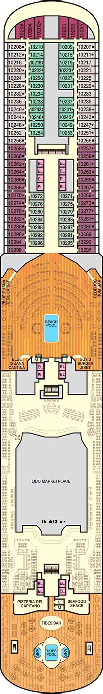 Carnival Panorama Deck Plans, Ship Layout & Staterooms