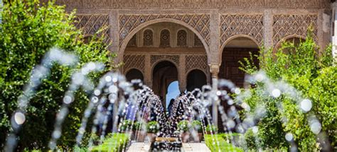 Gardens of the General Life, Alhambra | Inter Yacht Charter