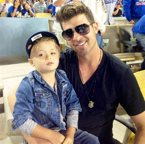 """Robin Thicke: My Son Julian """"Made Me Realize What Was Most"""