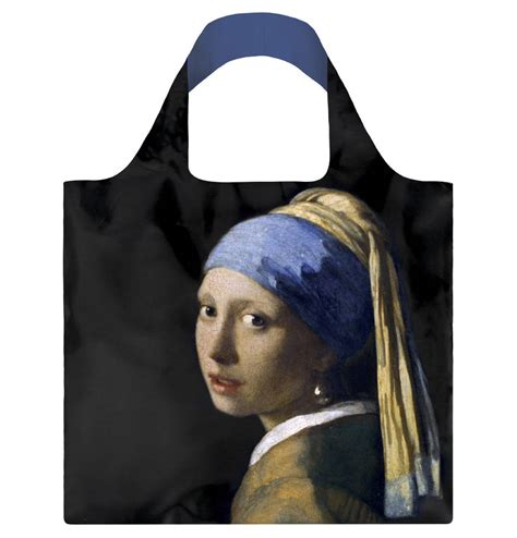 """Faltbeutel """"Johannes Vermeer - Girl with a Pearl Earing"""