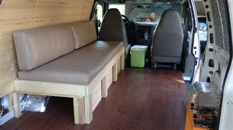 Sofa Bed Build - Finish (With images)   Rv sofa bed, Rv