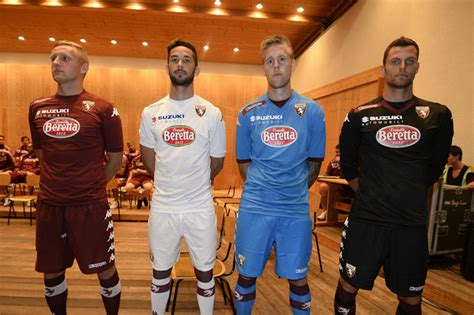 Torino FC 14-15 Home, Away and Third Kits Released - Footy