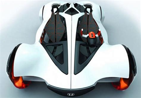 Honda Air lightweight concept car is propelled by